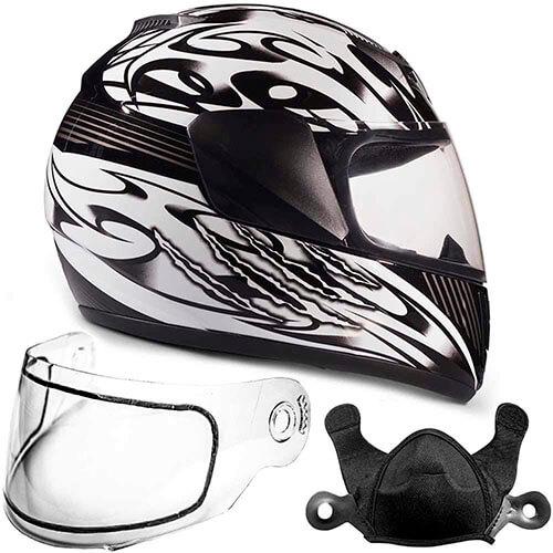 Typhoon Helmets Kids Full Face Snowmobile Helmet