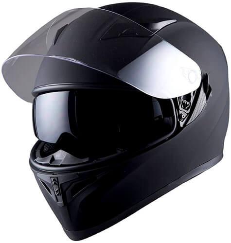 1Storm Motorcycle Full Face Helmet Dual Lens/Sun Visor