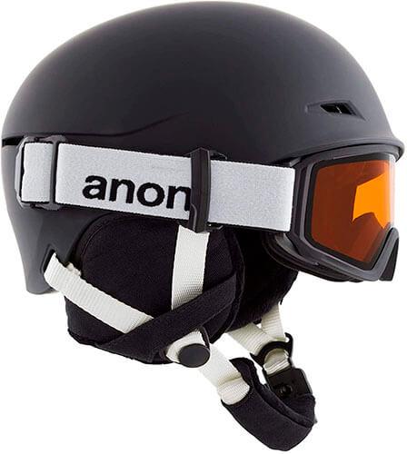 Anon Kids' Define Ski/Snowboard Helmet/Goggle Combo with BOA Fit System