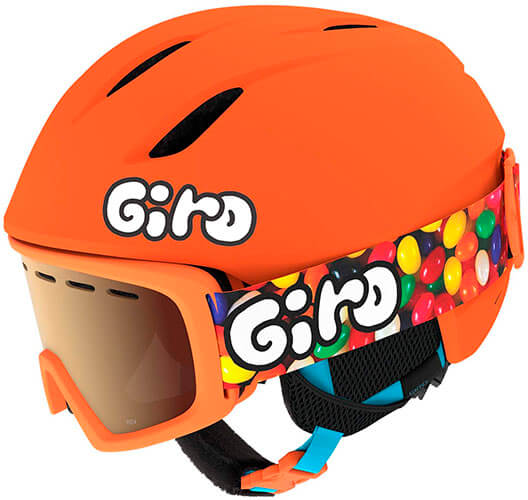 Giro Launch CP Youth Snow Helmet with Matching Goggles