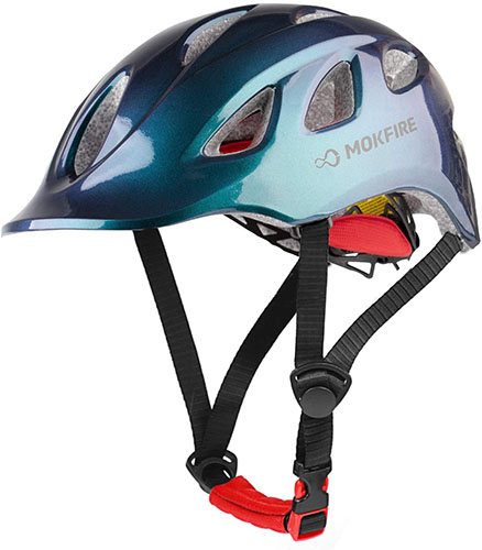 MOKFIRE Adult Bike Helmet - Urban Casual Commuter Cycling Bicycle Helmet