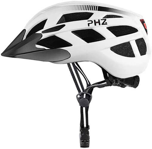 PHZ. Mountain Road Bicycle Helmet with Detachable Visor